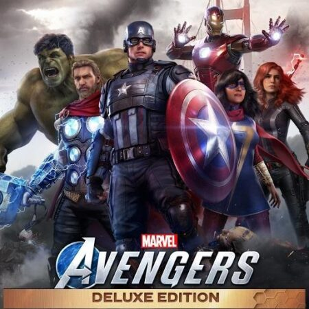 Marvel's Avengers Deluxe Edition Cover
