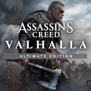 Assassin's Creed Valhalla Ultimate Edition Cover