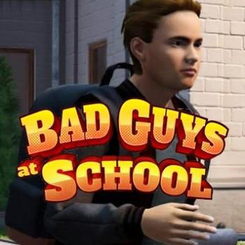 Bad Guys at School Cover