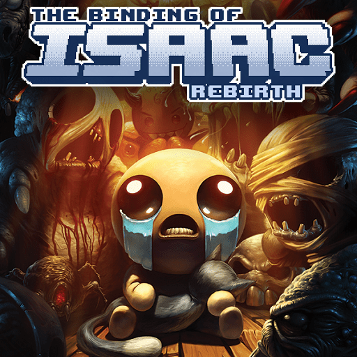 The Binding of Isaac- Rebirth Cover